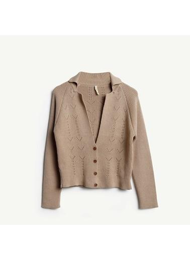 Yargıcı Ceket Bej